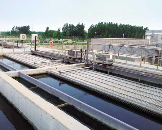 山东省4万吨/日污水厂污水提标改造